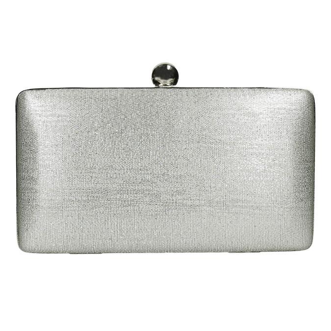 Silberne Clutch bata, Silber , 969-1660 - 19