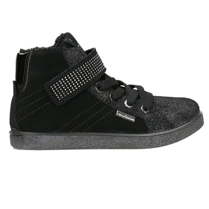 Knöchelhohe Kinder-Sneakers mini-b, Schwarz, 323-6172 - 15