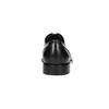 Schwarze Lederhalbschuhe im Derby-Look bata, Schwarz, 824-6405 - 17