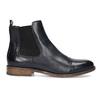 Damen-Chelsea-Boots aus Leder bata, Blau, 594-9636 - 19