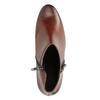 Knöchelschuhe aus Leder mit niedrigem Absatz gabor, Braun, 616-3112 - 15
