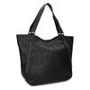 Schwarze Handtasche mit Zwecken bata, Schwarz, 961-6787 - 13
