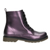 Kinderschuhe im Metallic-Look mini-b, Violett, 321-9612 - 15