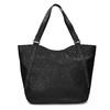Schwarze Handtasche mit Zwecken bata, Schwarz, 961-6787 - 26