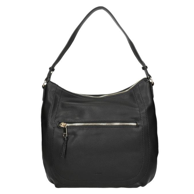 Schwarze Damenhandtasche mit Gurt gabor-bags, Schwarz, 961-6061 - 26