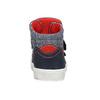 Knöchelhohe Sneakers aus Leder mini-b, Blau, 214-9203 - 16