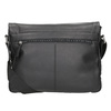 Schwarze Crossbody-Tasche aus Leder bugatti-bags, Schwarz, 964-6011 - 16