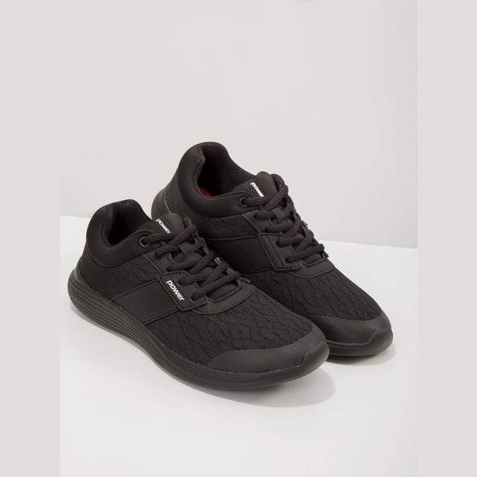 Schwarze Damen-Sneakers power, Schwarz, 509-6203 - 19
