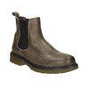 Damen-Chelsea-Boots aus Leder bata, Braun, 596-7680 - 13
