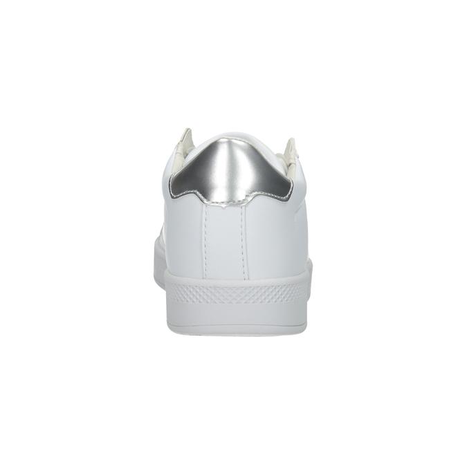 Weisse Damen-Sneakers atletico, Weiss, 501-1171 - 16