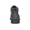 Knöchelschuhe aus strukturiertem Leder bata, Grau, 826-2616 - 17