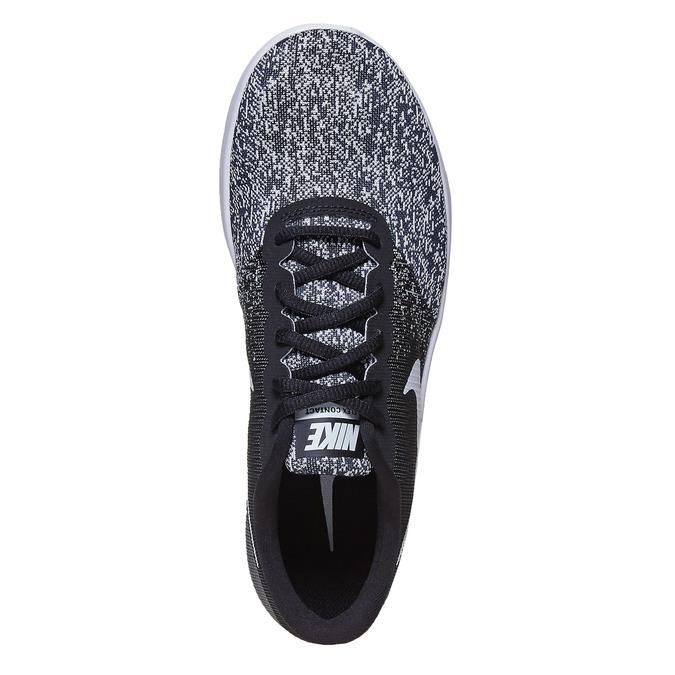 Damen-Sneakers mit Muster nike, Schwarz, 509-6189 - 19