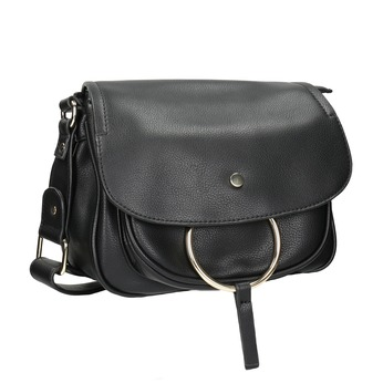 Crossbody-Damenhandtasche bata, Schwarz, 961-6161 - 13