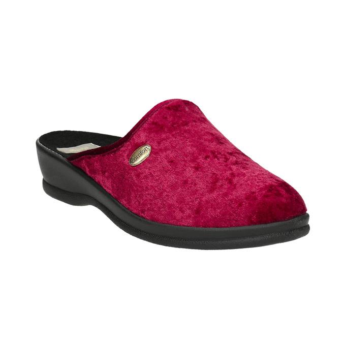 Damen-Hausschuhe bata, Rot, 579-5620 - 13