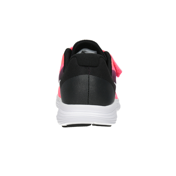 Rosa Mädchen-Sneakers nike, Rot, 309-5132 - 16
