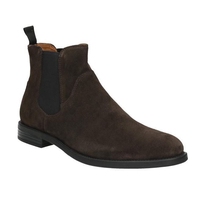 Herren-Chelsea-Boots aus Leder vagabond, Braun, 813-4019 - 13
