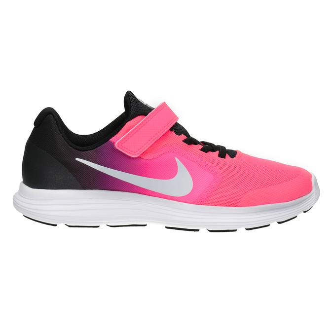 Rosa Mädchen-Sneakers nike, Rot, 309-5132 - 26