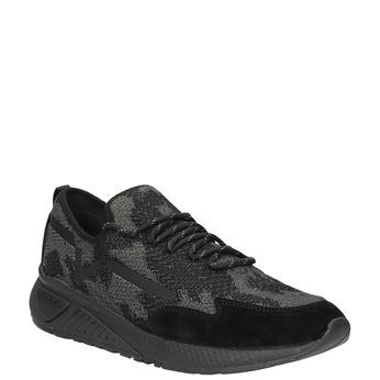 Herren-Sneakers diesel, Schwarz, 809-6602 - 13