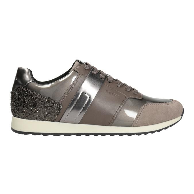 Sneakers mit Glitzereffekt geox, Braun, 621-8045 - 26