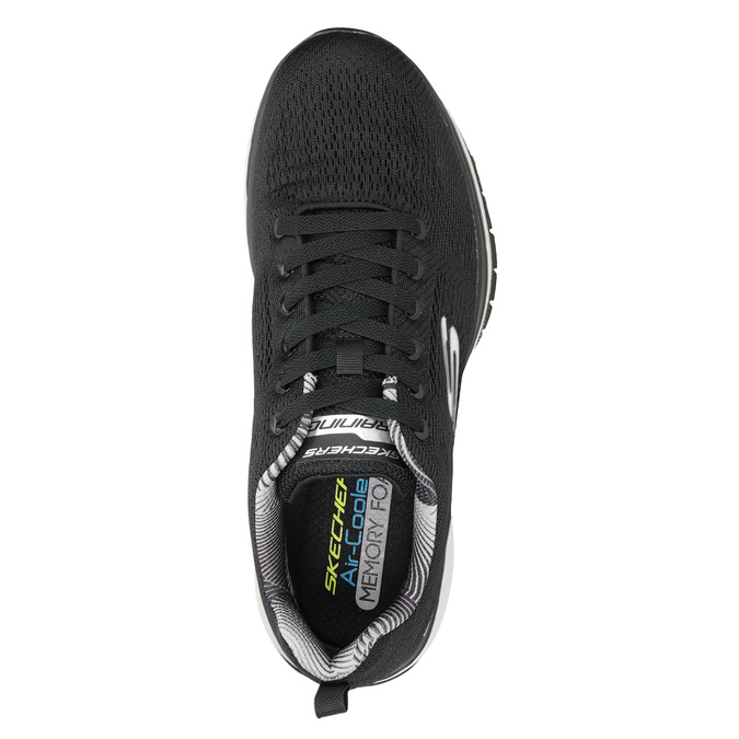 Schwarze Herren-Sneakers skechers, Schwarz, 809-6330 - 15