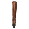 Lederstiefel mit Steppung bata, Braun, 794-4356 - 17
