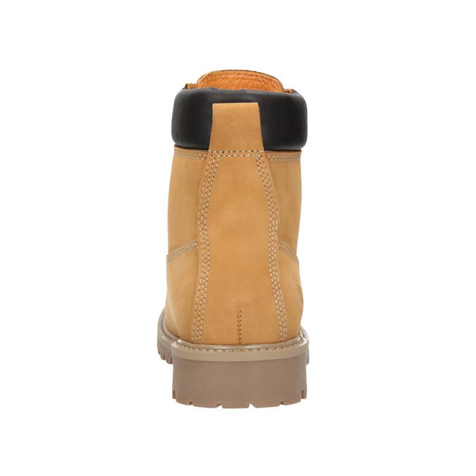 Knöchelschuhe aus Leder mit markanter Sohle weinbrenner, Braun, 596-4664 - 16