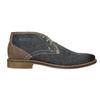 Herren-Knöchelschuhe aus Leder bata, Blau, 826-9920 - 26