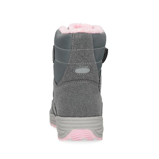 Mädchen-Schneestiefel mit Fell mini-b, Grau, 291-2625 - 15