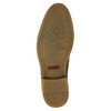 Knöchelhohe Herrenschuhe mit Steppnaht bata, Braun, 826-4920 - 17