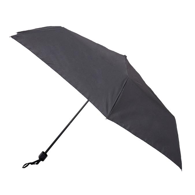 Schwarzer Taschen-Regenschirm, Schwarz, 909-6659 - 13