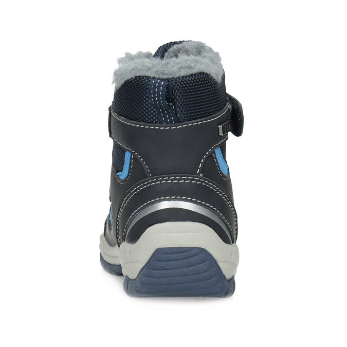Kinder-Winterschuhe mit Fell bubblegummer, Blau, 199-9602 - 15