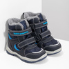 Kinder-Winterschuhe mit Fell bubblegummer, Blau, 199-9602 - 26
