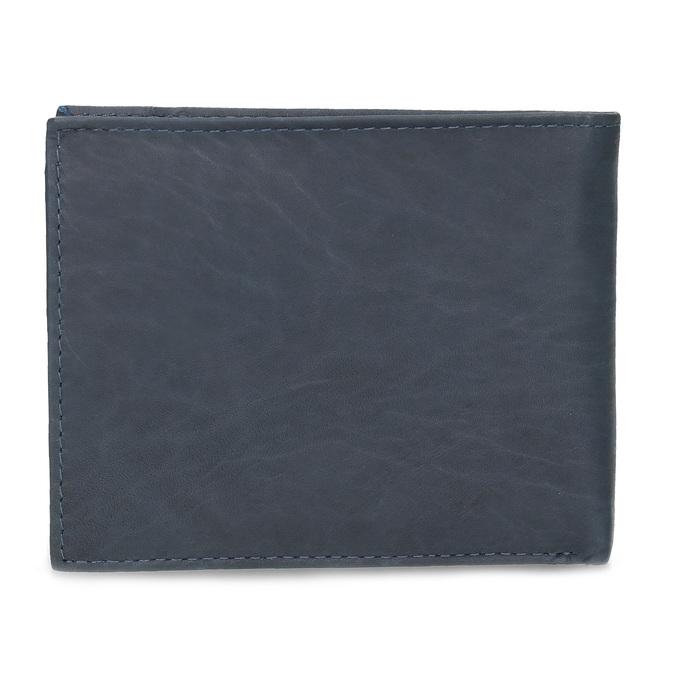 Herren-Geldbörse aus Leder, Blau, 944-9188 - 16