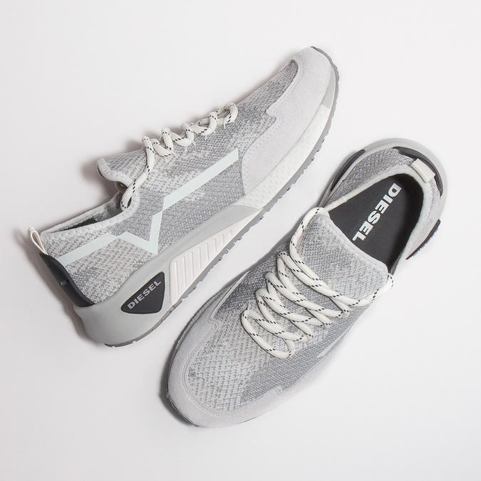 Sportliche Damen-Sneakers diesel, Weiss, 509-1760 - 26