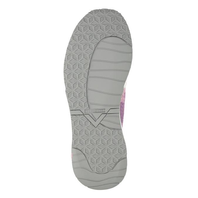 Sportliche, rosa Sneakers diesel, Rosa, 509-5760 - 19