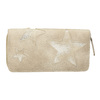 Damen-Geldbörse mit Sternen bata, Beige, 941-2154 - 26