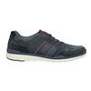 Legere Sneakers aus geschliffenem Leder bata, Blau, 846-9639 - 16