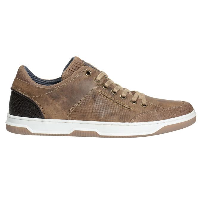 Herren-Sneakers aus Leder bata, 846-8927 - 26