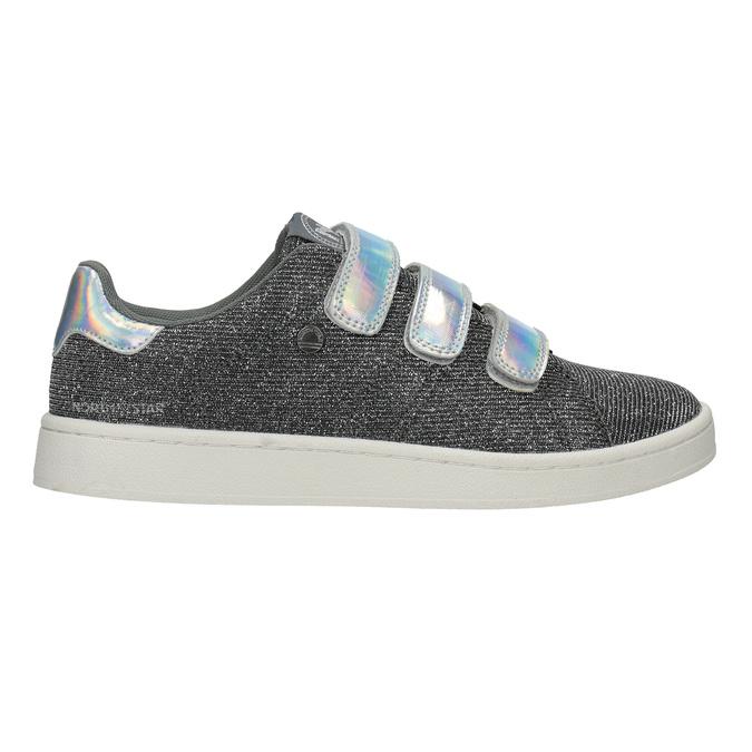 Damen-Sneakers mit Klettverschlüssen north-star, Silber , 549-1604 - 16