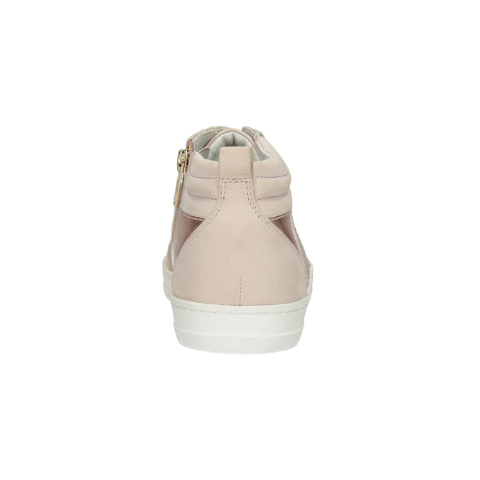 Knöchelhohe Damen-Sneakers bata, Rosa, 546-5608 - 16