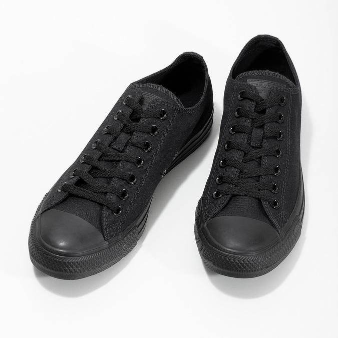 Schwarze Herren-Sneakers converse, Schwarz, 889-6279 - 16